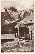 05. CPSM. Hautes Alpes. La Grave. L'église Des Terrasses Et La Meije - Francia