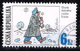 Tschechien 1997, Michel# 155 O Josef Lada's Illustration: SVEJK - Czech Republic