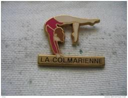Pin's  Gymnastique La Colmarienne - Gymnastics