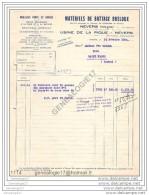 N 58 NEVERS NIEVRE 1934 MATERIELS DE BATTAGE BRELOUX Usine De La Pique CHAUDRONNERIE ˆ VEUVE CAYROL De SAINT FLOUR - Alimentaire