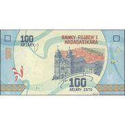 TWN - MADAGASCAR NEW - 100 Ariary 2017 Prefix G UNC - Madagascar