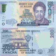 Malawi  New  200 Kwacha 2016  UNC - Malawi