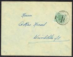 MM N° 1 / Y&T N° 1 - Brief - SMYRNA (Turkey) Nach WEINBÖHLA - 10/VIII/1908. Bemerken Hierunter Lesen. - Levant Autrichien