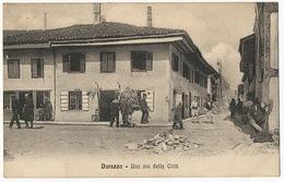 Durazzo Durres Una Via Della Citta  Alterocca Terni A. Scarpettini - Albanie