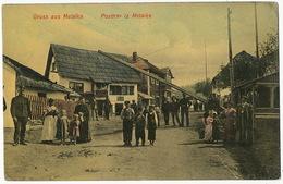 Gruss Aus Metalka  Edit Simon Kattan Sarajevo 1908 - Bosnie-Herzegovine
