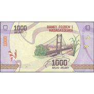TWN - MADAGASCAR NEW - 1000 1.000 Ariary 2017 Prefix D UNC - Madagascar