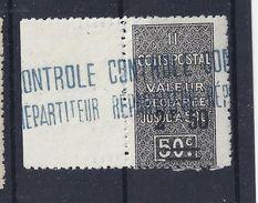 Algérie Colis Postaux 1927 N°19 Neuf Sans Charnière ** - Parcel Post