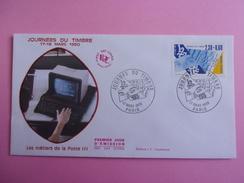 FRANCE FDC 1990 YVERT 2639 JOURNEE DU TIMBRE - 1990-1999