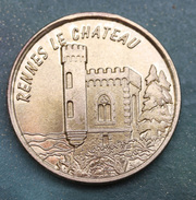 """Jeton Touristique Laiton """"Sainte Madeleine - Rennes-le-Chateau"""" Ste Marie-Madeleine - Religious Token - Tourist"""