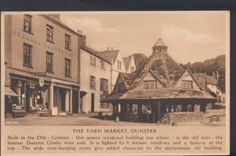 Somerset Postcard - The Yarn Market, Dunster  DC962 - Angleterre
