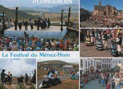 CPM  Plomodiern Festival Du Menez Hom - Plomodiern