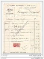 N 62 EPINOY Par OISY LE VERGER PAS DE CALAIS 1939 Autos Cycles TSF Mrs LAURENT - DUMONT Gare SANCOURT ˆ BOUCHEZ Maurice - Landbouw