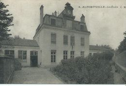 94, Val De Mare, ALFORTVILLE, Les Ecoles, Scan Recto-Verso - Alfortville