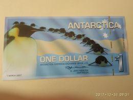 Antartica 1 2011 - Banconote