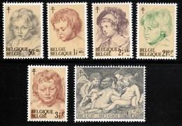 Belgique - Timbres De 1963 Rubens COB 1272 / 77 XX - Belgique