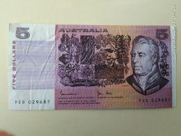 5 Dollari 1974-91 - 1974-94 Australia Reserve Bank