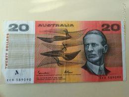 20 Dollari 1985 - Decimal Government Issues 1966-...