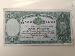 2 Pound 1938 - Pre-decimal Government Issues 1913-1965