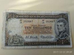 Ten Shillings - Emissioni Governative Pre-decimali 1913-1965
