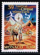 Monaco 2015, Michel# 3211 O     Internationales Zirkusfestival - Monaco
