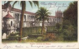 SEVILLA - Jardines Del Alcazar, Gel.1918? - Sevilla