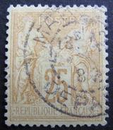 LOT R1631/2048 - SAGE Type II N°92 - BON CENTRAGE - CàD MARSEILLE DEPART - 1876-1898 Sage (Type II)