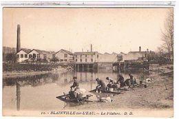 54  BLAINVILLE  SUR  L'  EAU  LA  FILATURE   LAVEUSES LAVENDIERES   TBE  1V14 - Andere Gemeenten