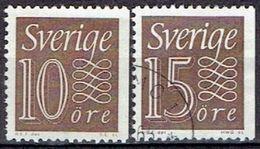 SWEDEN  # FROM 1964 STAMPWORLD 521-22Ch - Sweden