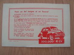 BUVARD 4 CV - Automotive
