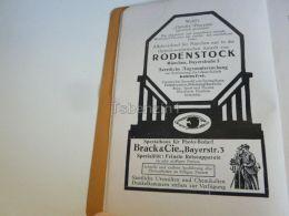 München Munchen Rodenstock Brack & Cie Germany Print Engraving 1912 - Reklame