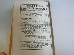 München Munchen Münchener Künstler Theater Germany Print Engraving 1912 - Reklame