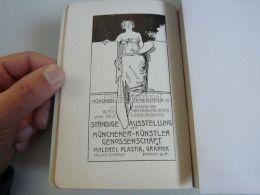 München Munchen Standige Ausstellung Malerei Plastik Graphik Germany Print Engraving 1912 - Reklame