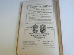 München Munchen Gerstle & Löffler F.X. Zettler Hof. Glasmalerei Germany Print Engraving 1912 - Reklame