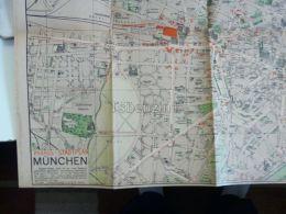 München Munchen Map Karte Germany 1912 - Landkarten