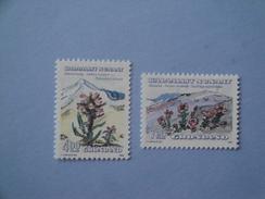 1992 Groenland  Yv 211/2 ** Fleurs Flowers  Scott Xx  Michel 223/4  SG Xxx - Neufs