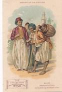 Chromo  Collection De La Musculosine  Byla ( Médicament ) History Of The Costume Egypt égypte Le Caire  ( Gentilly  ) - Chromos
