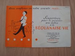 BUVARD SEQUANAISE-VIE - Buvards, Protège-cahiers Illustrés