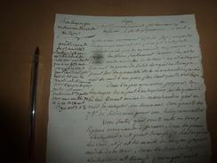 1813  Arrêt Du Tribunal Sur Les Fraudes Réelles Du Pain Vendu ,qui Doit être Considéré Sur Un Autre Angle; Etc - Manuscrits
