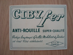 BUVARD CIBYFER - Blotters