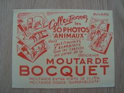 BUVARD MOUTARDE BOCQUET - Mostard