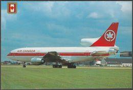 Air Canada Lockheed L-1011 TriStar, C.1980 - FISA Postcard - 1946-....: Moderne