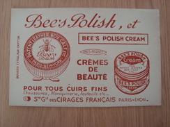 BUVARD BEE'S POLISH CREAM - Blotters
