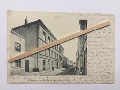JODOIGNE «ÉCOLE MOYENNE DE L'ETAT»Panorama,animée (1900) J.P.L - Geldenaken