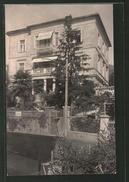 Foto-AK Abbazia, Partie An Der Pension Margit - Kroatien