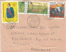 Congo 1982 Kindamba African Elephant Hunting Trap President Sassou Cover - Elephants