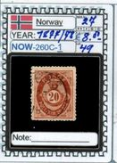 EUROPE:NORWAY #CLASSIC#1860># (NOW-250C-1) (49) - Norvège