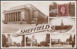 Multiview, Sheffield, Yorkshire, C.1950s - RP Postcard - Sheffield