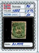 EUROPE:NORWAY #CLASSIC#1860># (NOW-250C-1) (50) - Norvège