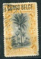 CONGO BELGE ( POSTE ) : Y&T N°  42  TIMBRE  TRES  BIEN  OBLITERE  , VOIR . - Congo Belge