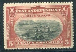 CONGO BELGE ( POSTE ) : Y&T N°  15  TIMBRE  NEUF  AVEC  TRACE  DE  CHARNIERE  , VOIR . - Congo Belge
